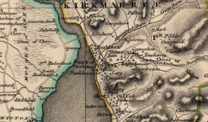 1821 Map of Creetown